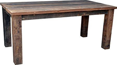 Guru-Shop Mesa de Comedor de Tablones de Madera Rústicos (JH3-181), 180x90x77 cm, Mesas de Comedor Mesa: Amazon.es: Hogar