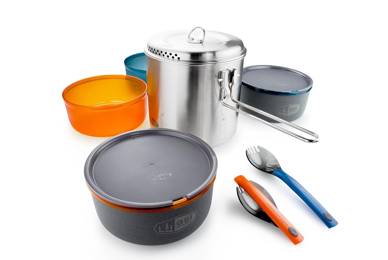 GSI Outdoors 68144 Küchen-Set, Unisex, Erwachsene, Mehrfarbig, Einheitsgröße