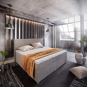 ECO SLEEP - Cama con somier Magic con canapé de 7 Zonas y colchón viscoelástico y de látex, Inari 26 H3, 180 x 200 cm: Amazon.es: Hogar