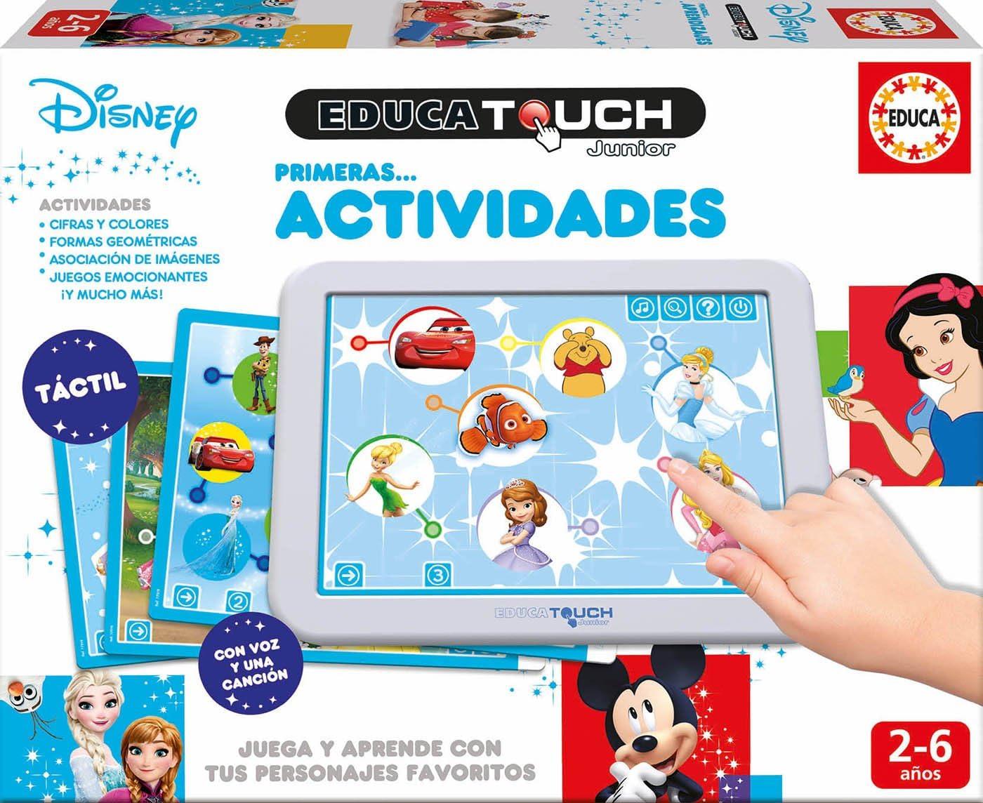 Amazon.es: Educa Borrás- Educa Touch Primeras Actividades, Juega y ...