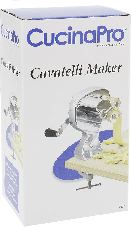 Compra Máquina para hacer cavatelli con rodillos fáciles de limpiar, hace auténticos ñoquis, conchas de pasta y más, recetas incluidas en Amazon.es