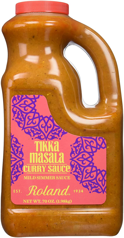 Roland Curry Sauce, Tikka Masala, 70 Ounce