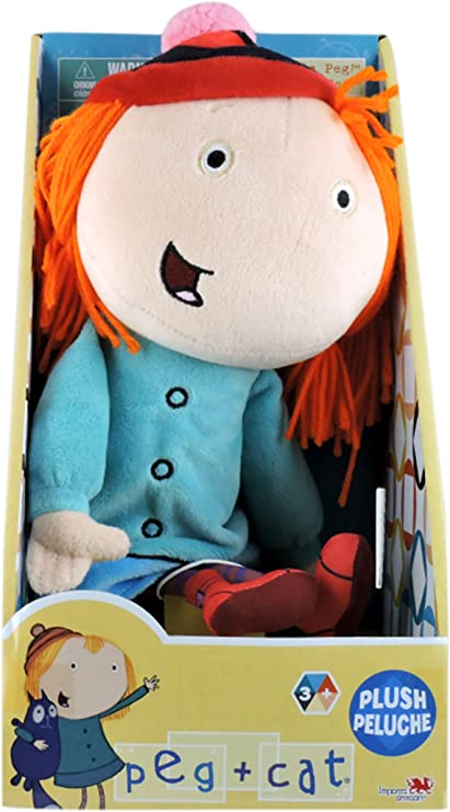 Peg + Cat Peg Plush, 12""