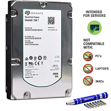 Seagate 600 GB 15k SAS 6Gb/s 16MB 3 5