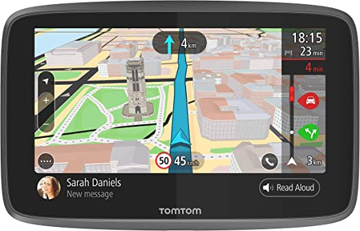 Tomtom Go 6200 Car Navigation System 6 Inches With Updates Via Wi Fi Lifelong Traffic Via Sim Card World Maps Hands Free Calling Navigation Car Hifi