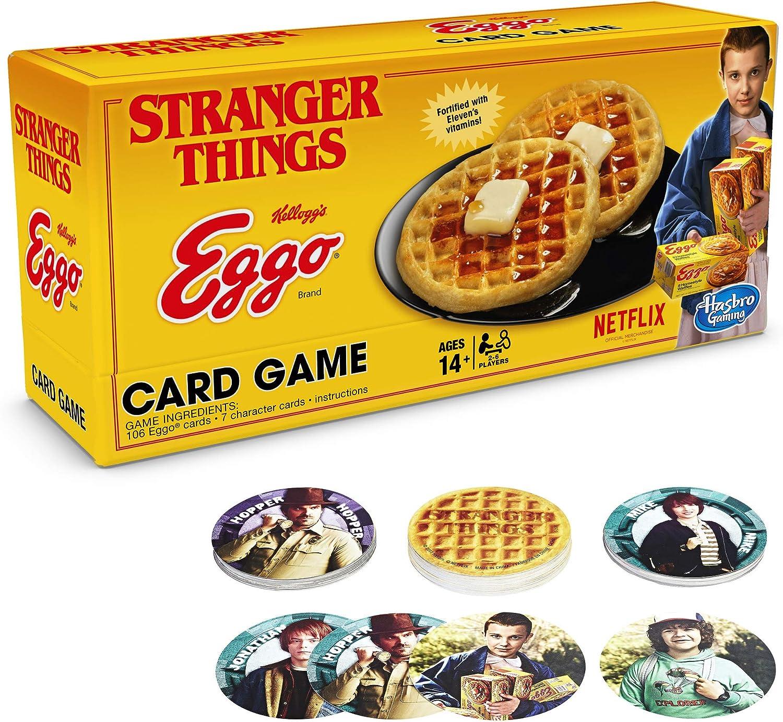 Hasbro Gaming Stranger Things Eggo Juego de Cartas: Amazon.es: Juguetes y juegos