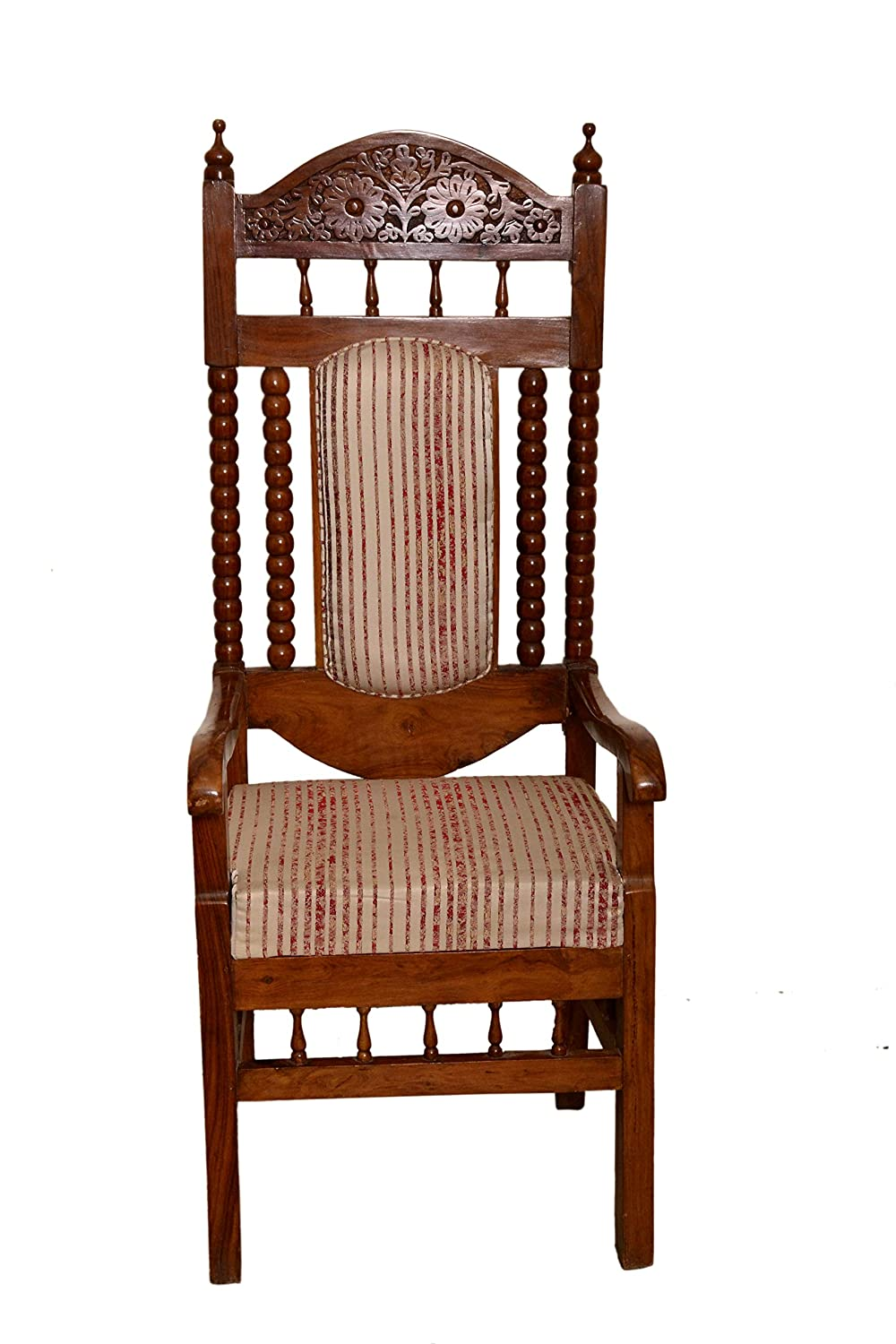 Wood WHIZZ Furniture Office Wooden Chair: Amazon.in: Home & Kitchen