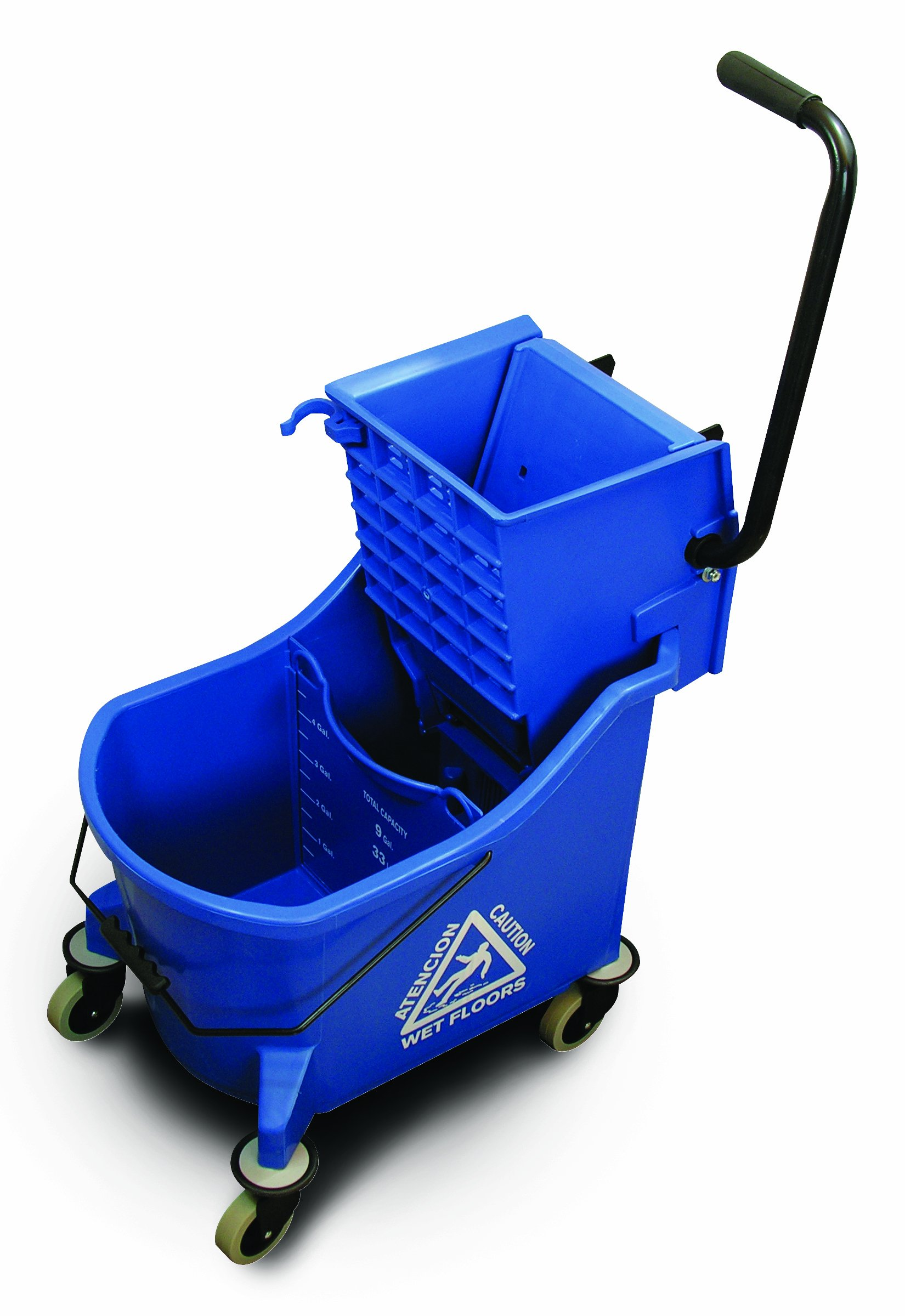 O'Cedar Commercial 6978 MaxiPlus Mop Bucket and Wringer, Blue