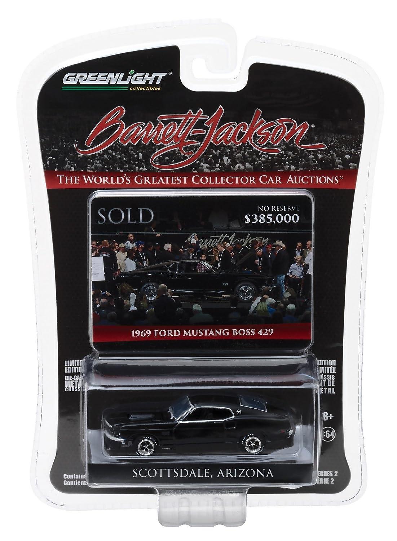 Greenlight 164 Barrett Jackson Scottsdale Edition 1969 Ford Mustang Boss 429 Toys Games