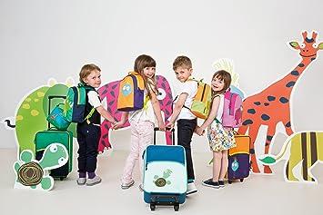 Amazon.com : Sturdy infantil Trolley Maleta del balanceo, Wildlife Tortuga : Baby