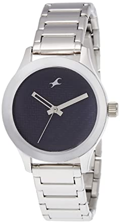 27871dcf5 Image Unavailable. Image not available for. Colour  Fastrack Monochrome  Analog Blue Dial Women s Watch ...