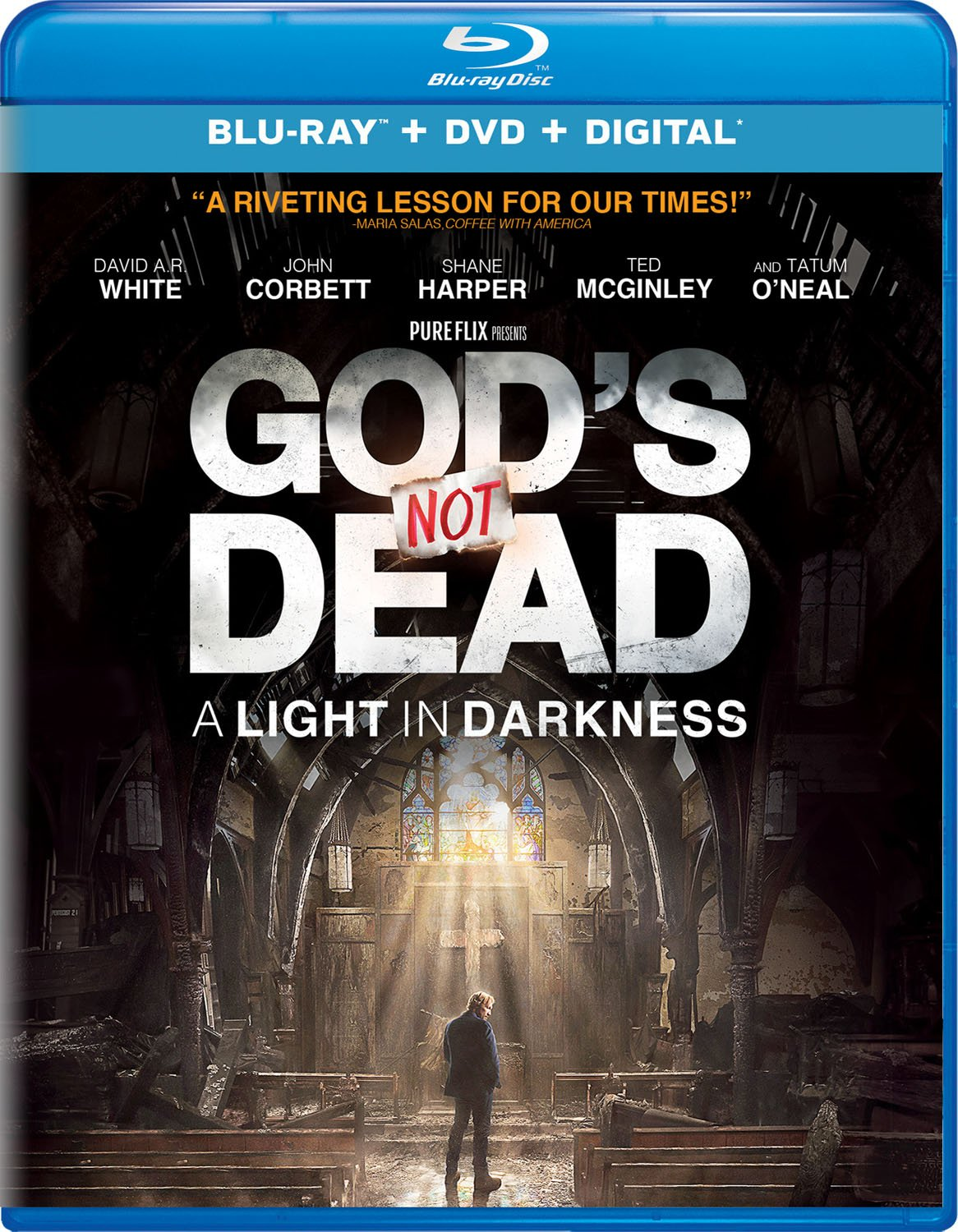 Blu-ray : God's Not Dead: A Light In Darkness (With DVD, 2 Pack, 2PC)