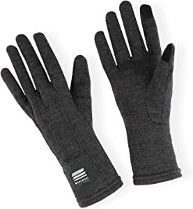 MERIWOOL Merino Wool Glove Liners - Touchscreen Compatible