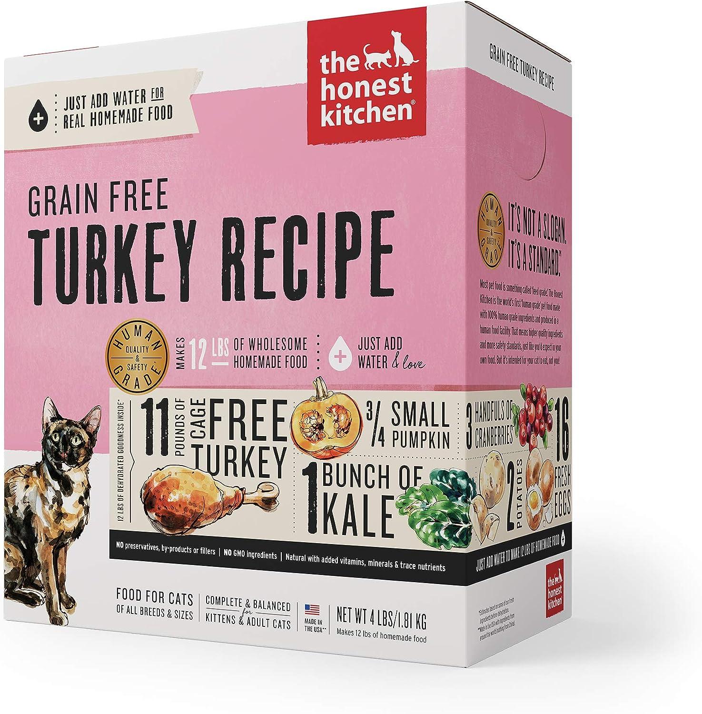 The Honest Kitchen Human Grade Dehydrated Grain Free Cat Food