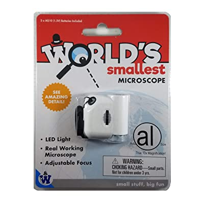 Westminster World's Smallest Microscope: Toys & Games