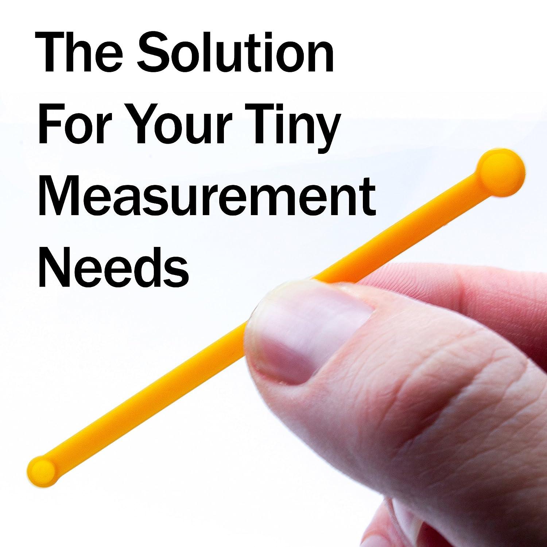Cucchiaio dosatore non statico molto stabile per una facile misurazione degli integratori alimentari. 25-30 mg in polvere Cucchiaio MICRO SCOOP 25 DOSING SPOON ciascuno 10-15 mg