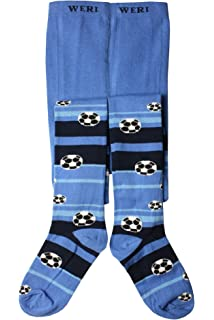Weri Spezials Baby and Children Tights dark Blue,Strips