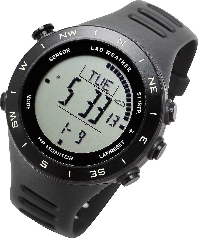 [ラドウェザー]スポーツウォッチ 心拍計 活動量計 ランニング/フィットネス/トレッキング 登山/クライミング 健康管理 多機能 デジタル腕時計 B07CXMY9QB