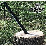 Snake Eye Tactical Full Tang Two Tone Handle Fixed Blade Machete w/ Sheath Outdoors Hunting Camping Fishing