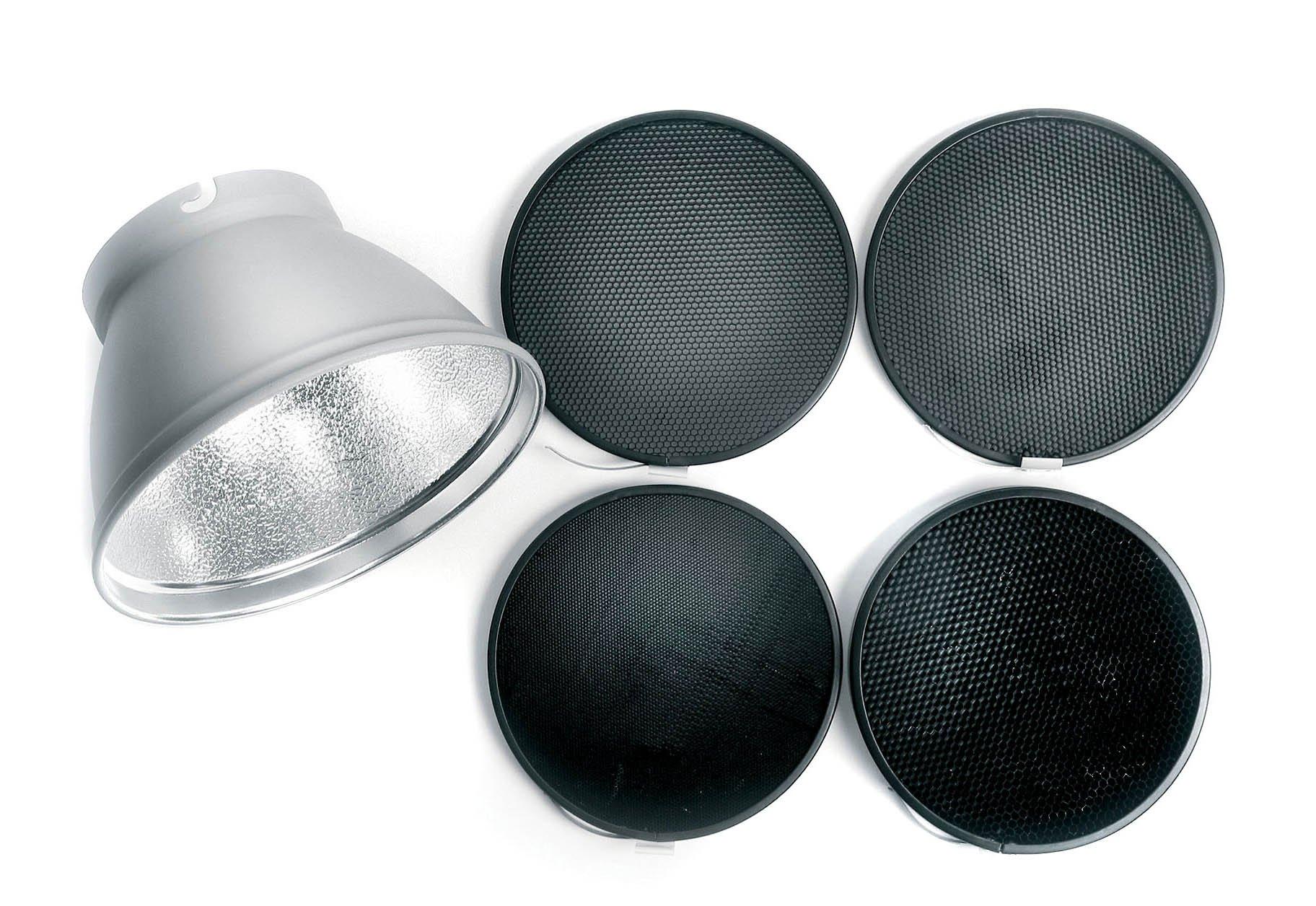 Elinchrom Complete Grid Reflector Set 21cm (EL26051)