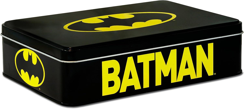 Batman 6390526001 Lata, Metal, Negro, 21 x 5.5 x 15 cm: Amazon.es: Hogar