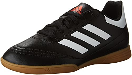 a8904d88bdee Adidas Kid's Boy's Junior Goletto 6 Indoor Soccer Shoes, Core Black/Footwear  White/