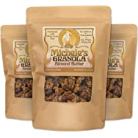 Michele's Granola Almond Butter, 12 Oz Package, Pack of 3, Gluten-Free & Non-GMO Project Certified