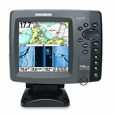 Humminbird 798cxi HD SI Combo - Detector de peces en color y sistema de trazado (
