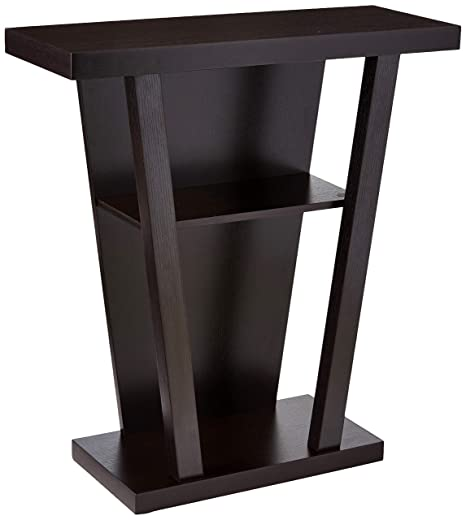 Awesome Coaster Home Furnishings Console Entry Table Cappuccino Alphanode Cool Chair Designs And Ideas Alphanodeonline