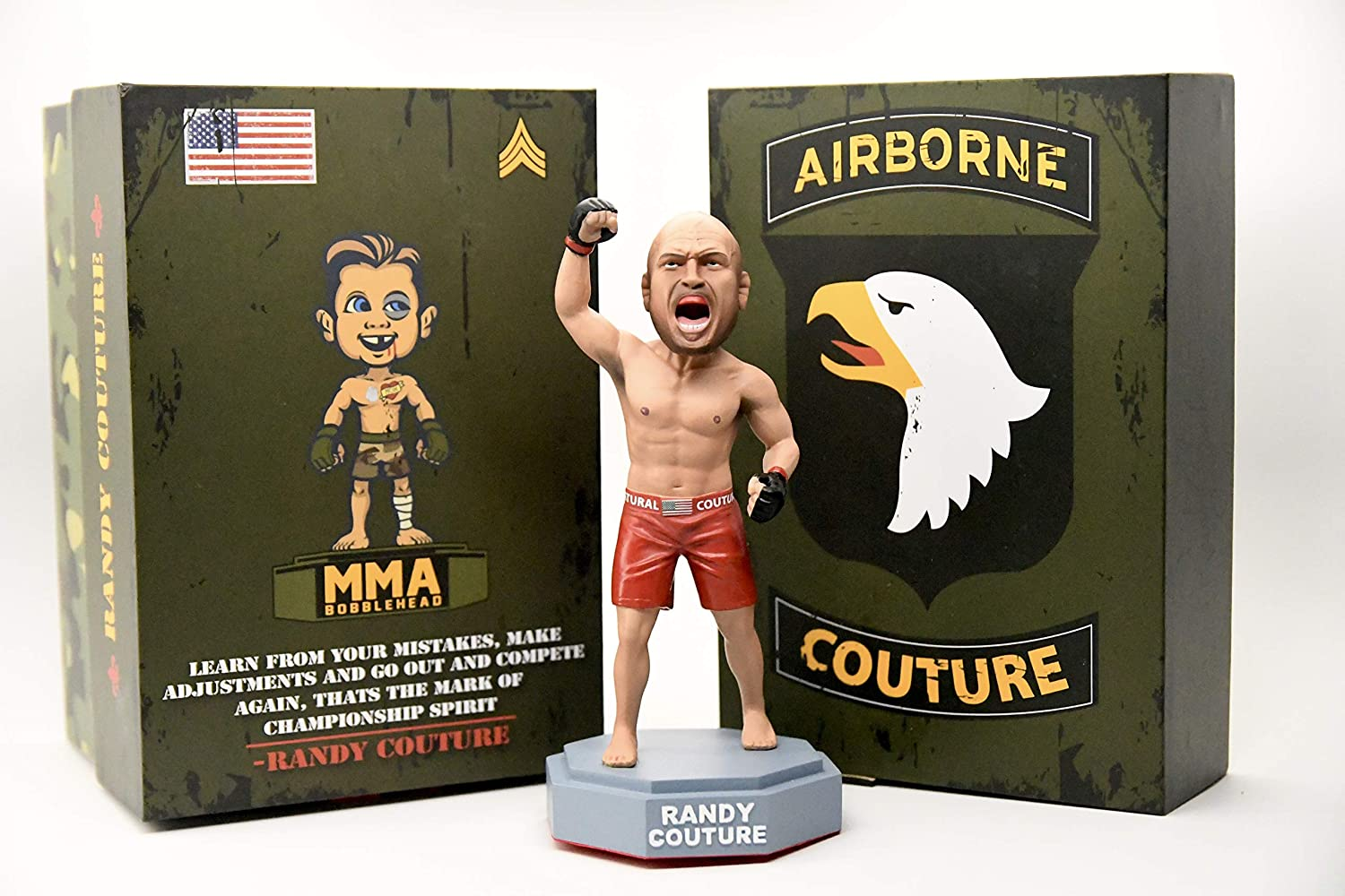 Hand Painted MMA UFC Action Figures The Iceman Fight Night Sports Memorabilia Handmade UFC Bobblehead Limited Chuck Liddell Limited Numbered