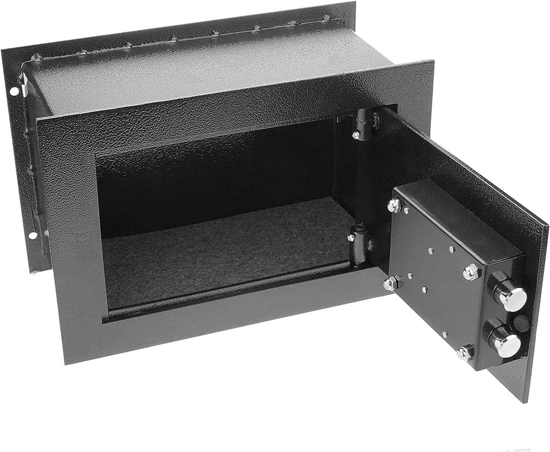 Grigio 310210150 MM KARP 10000A Cassaforte di Sicurezza ad Incasso Misure: 310x210x150 mm