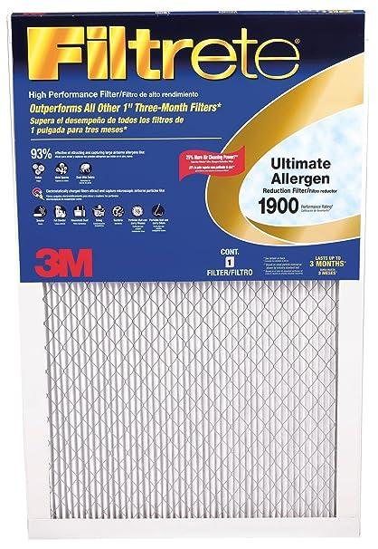 3M UA23DC-6 Filtrate Ultimate Allergen Reduction Filter, 14 x 24 x 1