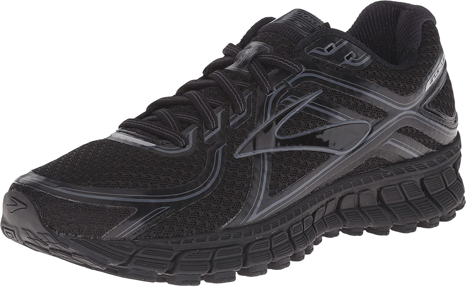 113f38c52 Amazon.com | Brooks Women's Adrenaline GTS 16 Black/Anthracite Sneaker 6.5  B (M) | Fashion Sneakers