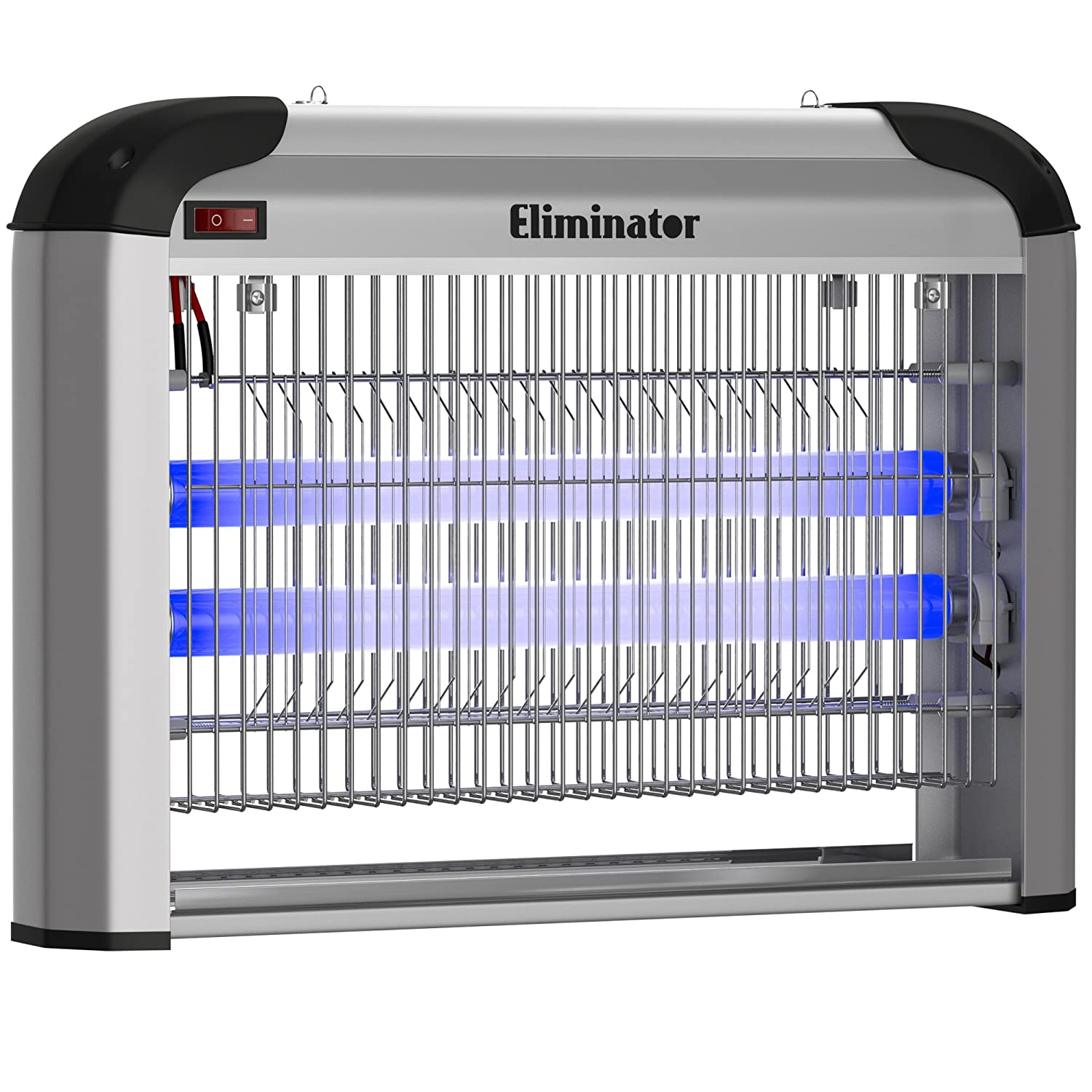 Eliminator Electric Fly Zapper Trap and Bug Zapper Killer Catcher – Protects 5000 Sq. Ft. / Exterminates All Insects Bug Pests - Electronic Pest Control For Residential and Commercial Use [UPGRADED]
