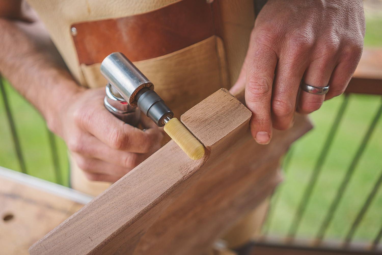 1//4 Shaft 28.5mm Woodworking Attachment for Bosch Kutzall Original Ball Nose Rotary Burr Makita Coarse X 1-1//8 3//4 DeWalt Milwaukee Dia Abrasive Tungsten Carbide BN-34 Length 19mm
