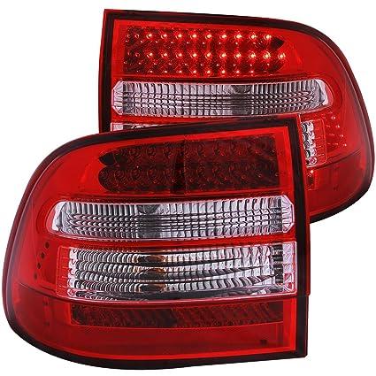 2003-2006 PORSCHE CAYENNE REAR BRAKE LAMPS LED TAIL LIGHTS +DRL RUNNING FOG PAIR