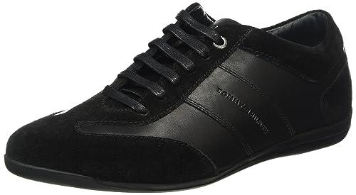 Tommy Hilfiger O2285tis 1c, Zapatillas para Hombre, Negro (Black), 46 EU