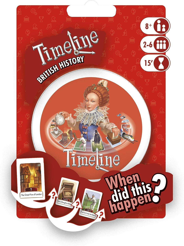 Asmodee Timeline - Blíster, varios colores , color/modelo surtido: Amazon.es: Juguetes y juegos