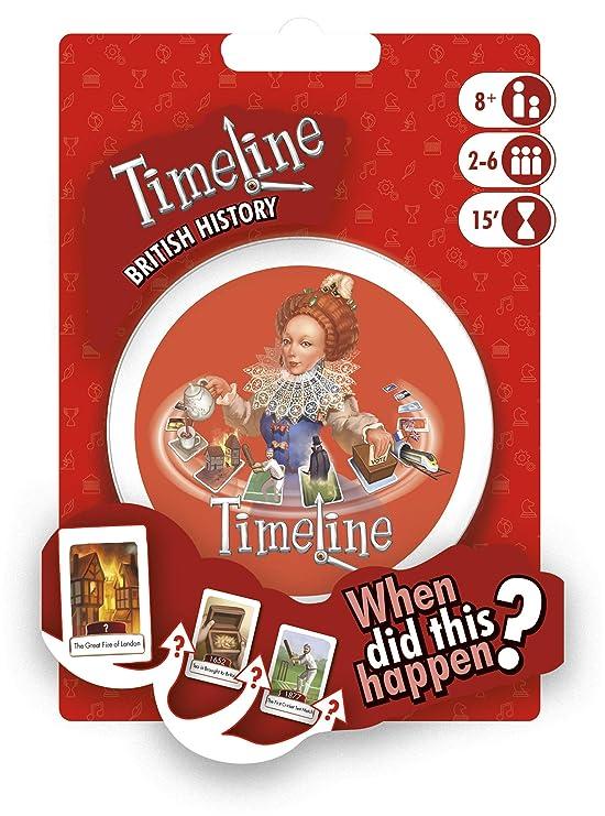 Asmodee ASMTLUKMC01EN Timeline British History-My Country Blister ...