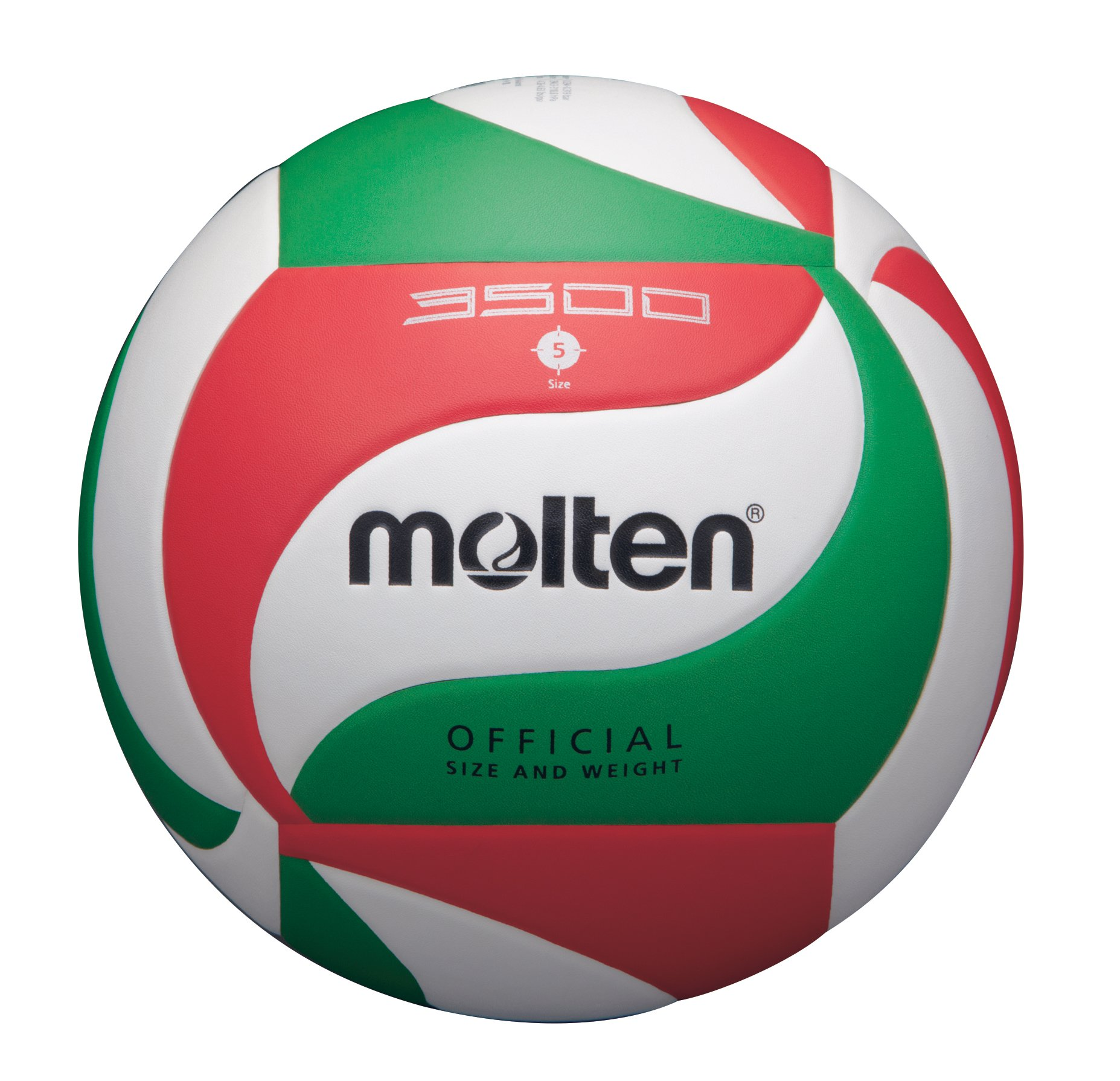 Molten Synthetic Leather Hand Stitched Volleyball- White By Molten