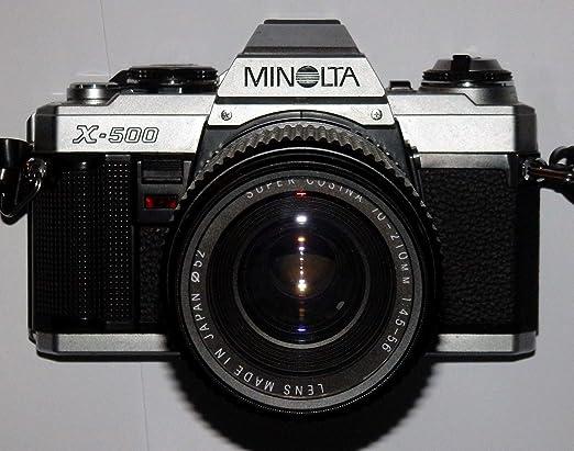 Fototechnik by lll Minolta X de 500 X500 Cámara Réflex – SLR ...