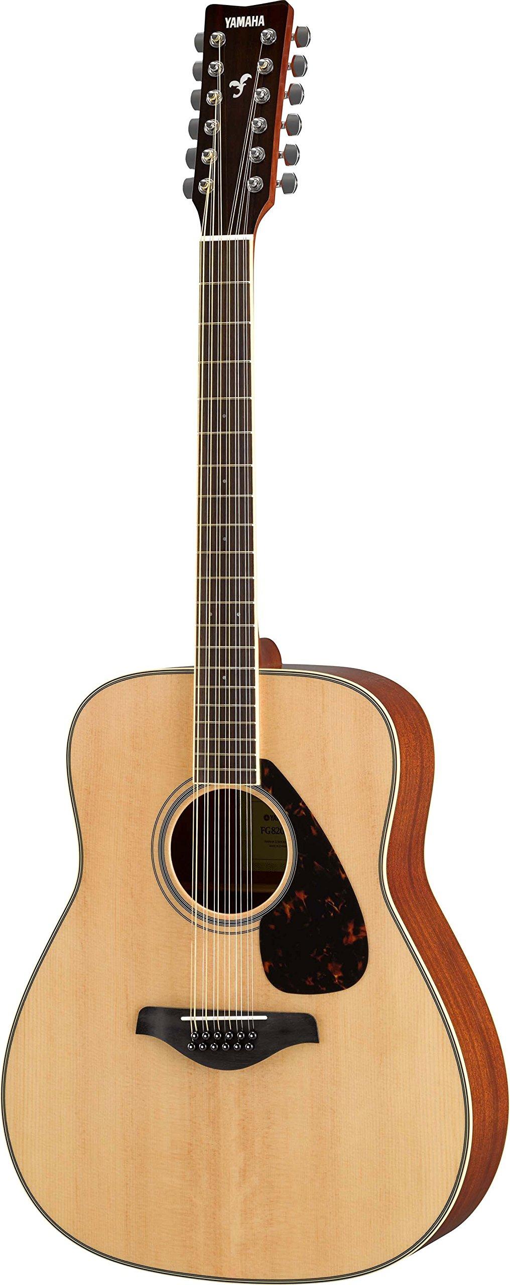 Yamaha FG820 12-String Solid Top Acoustic Guitar by YAMAHA