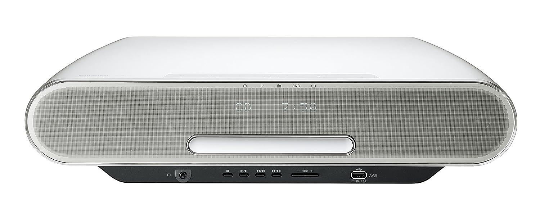 パナソニック ミニコンポ ハイレゾ音源対応 Wifi/Bluetooth対応 ホワイト SC-RS75-W 本体  B01E3H4JSE