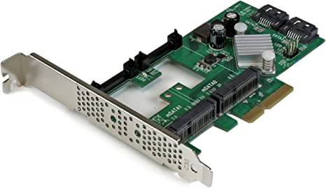 StarTech.com PEXMSATA3422 - Tarjeta controladora SATA III Raid ...