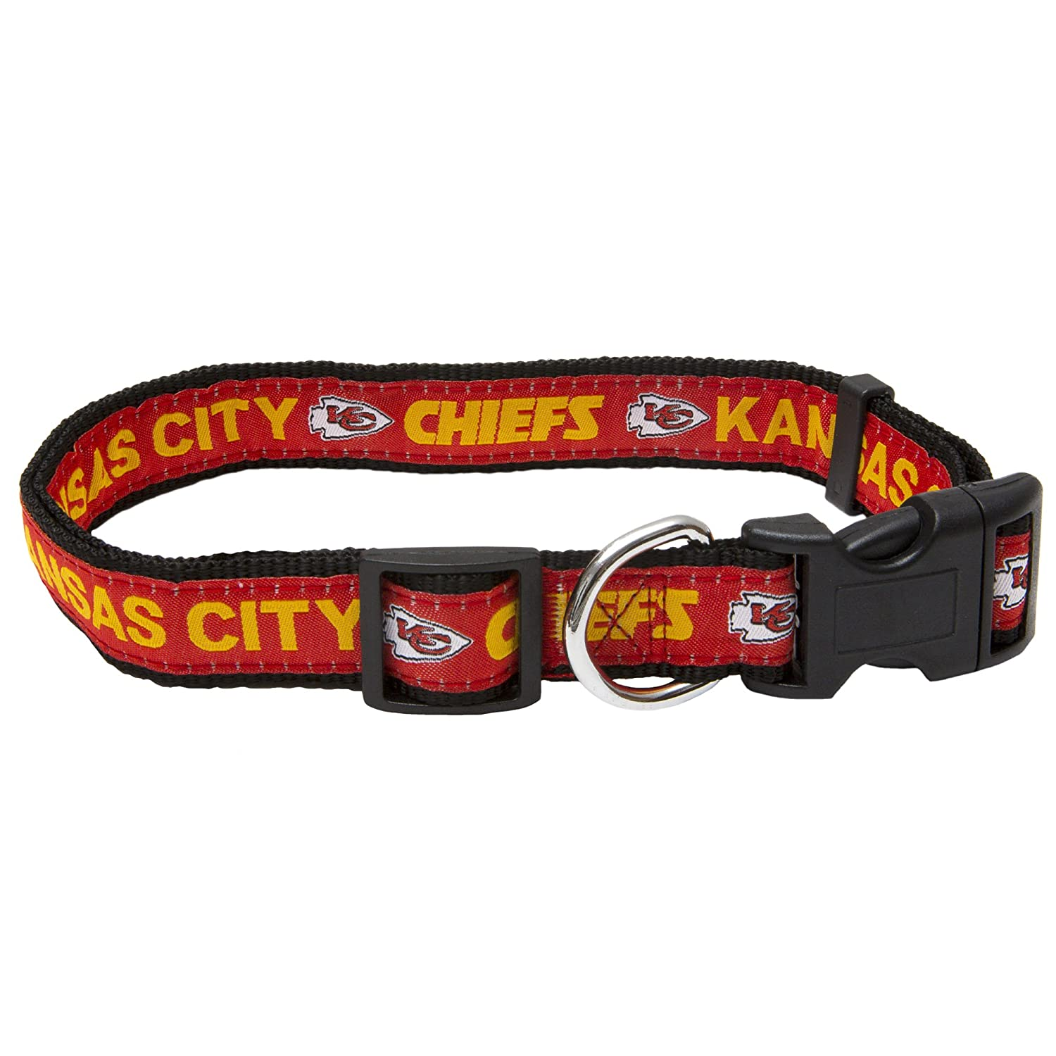 c13b3e13 Pets First NFL Dog Collar. 32 NFL Teams Available in 4 Sizes. Heavy-Duty,  Strong & Durable NFL PET Collar. Football Gear for The Sporty Pup.