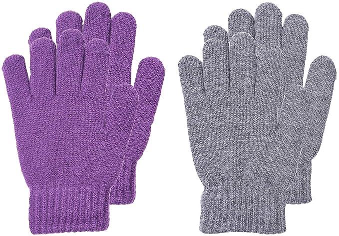 Wooly Bugged Kinder Winter Stricken Handschuhe Wolle Lila ...