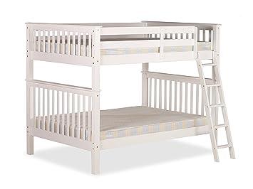 4ft Over 4ft Amani Malvern Bunk Bed In White Amazon Co Uk Kitchen
