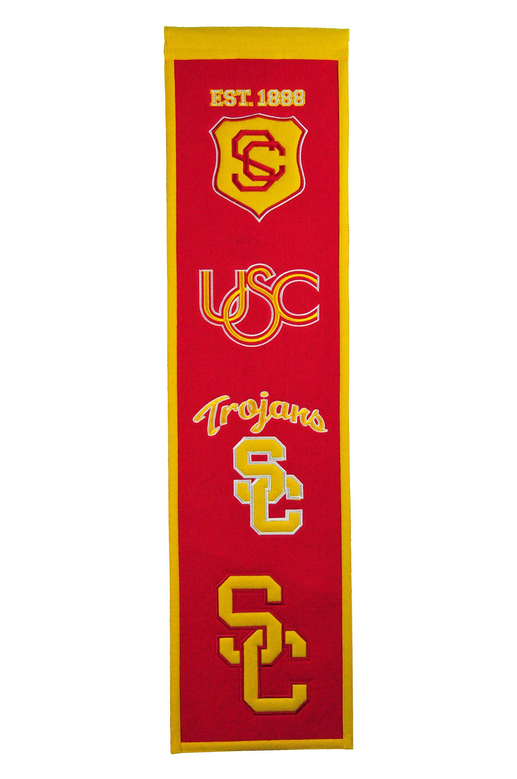 NCAA USC Trojans Heritage Banner by Winning Streak