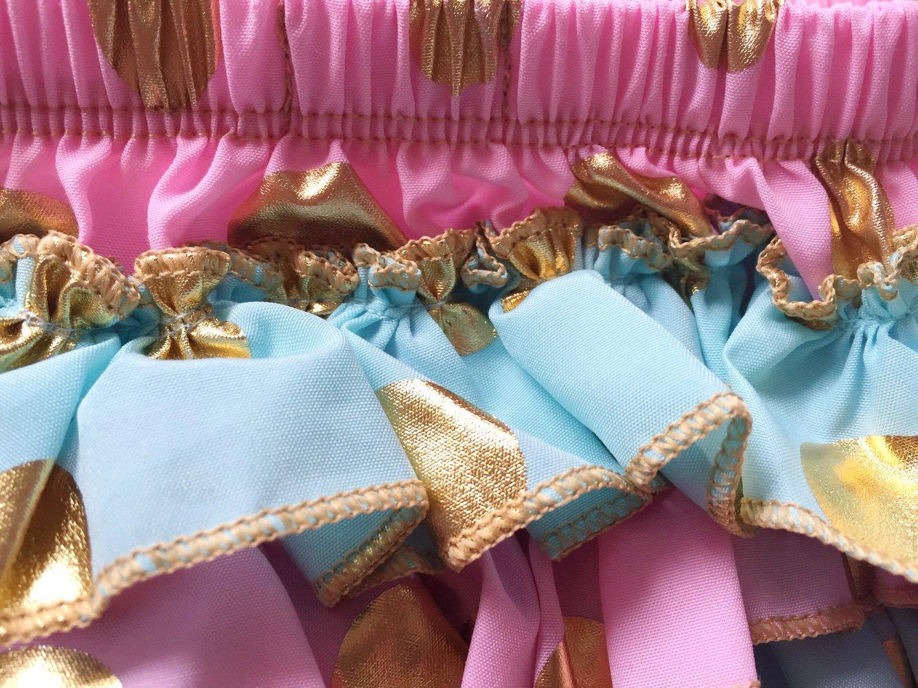 Messy Code Girls Briefs Sweet Gold polka dot Bloomer KP-BGPB01-CA