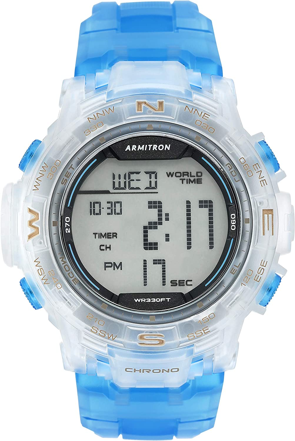 Armitron Sport Men s 40 8410 Digital Chronograph Resin Strap Watch